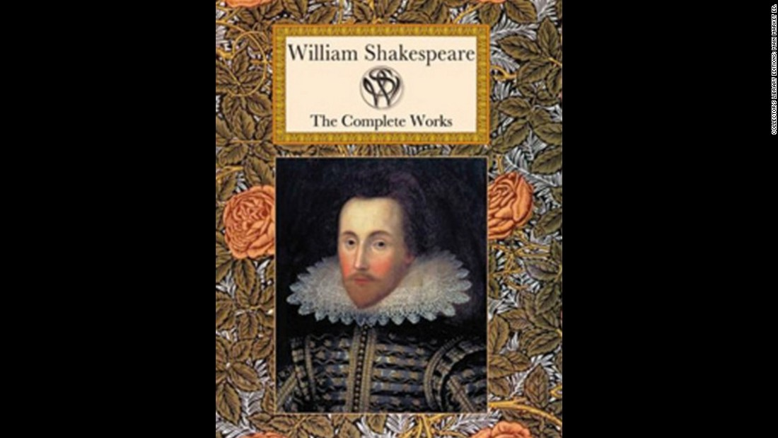 """The Complete Works"" by William Shakespeare is a collection of historical plays and poems written by the English writer, actor and poet also known as the ""Bard of Avon."""