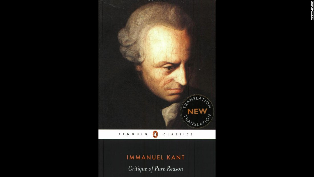 "First published in 1781, ""Critique of Pure Reason"" by Immanuel Kant is one of the most influential books in philosophy."