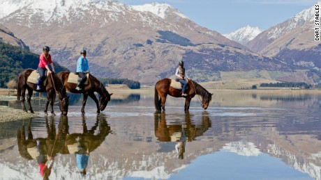 A horse riding tour on New Zealand's South Island can transport you into a fantasy world.