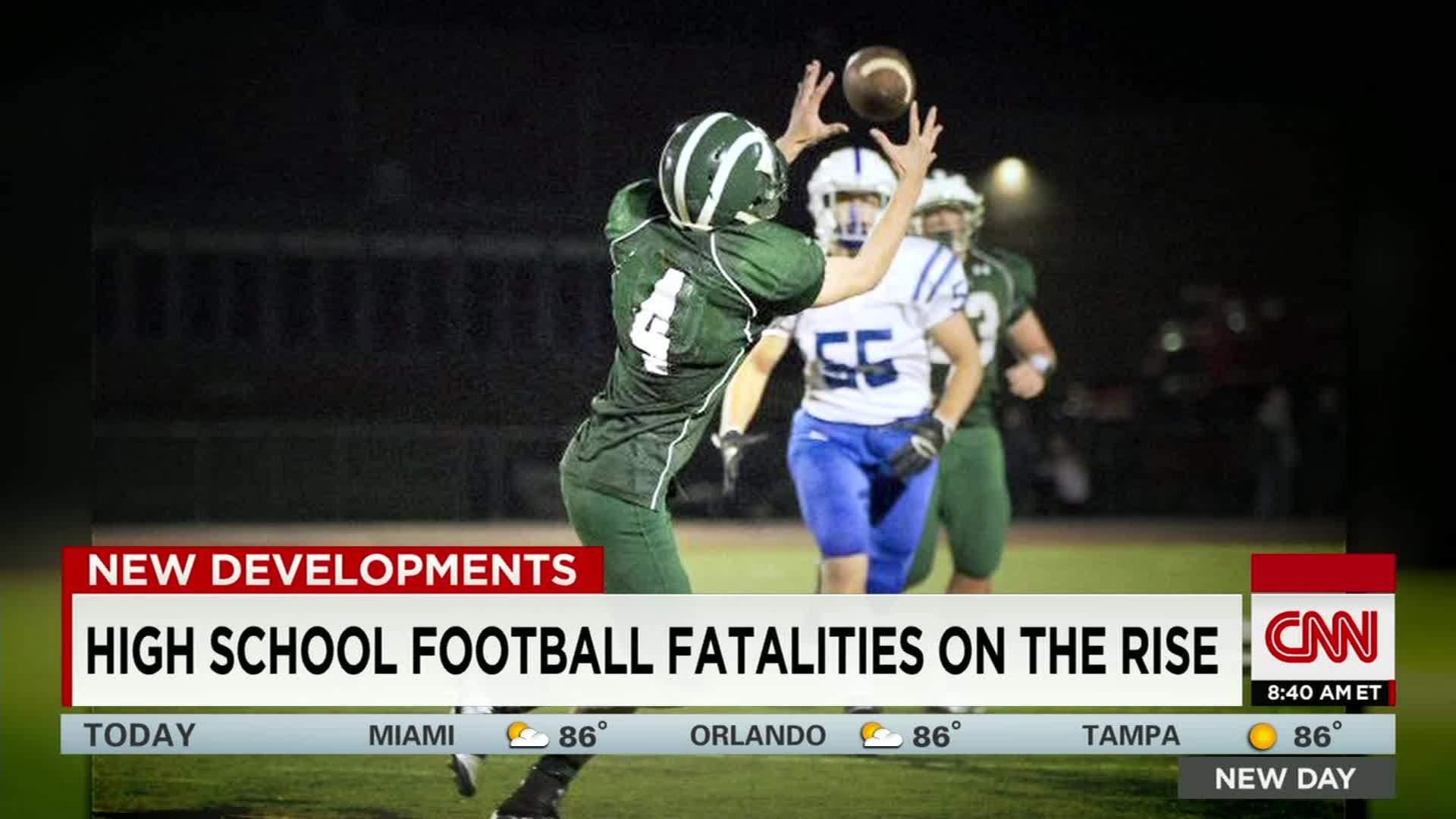 High School Football Player Dies After Hit Cnn Video