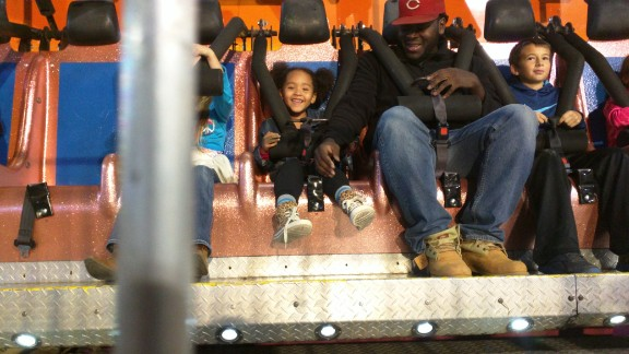 """""""I have never liked carnival rides, Karen Garsee says. """"However, Chris loves them and now that Kaylee is older and very brave they go on all the rides together, which definitely takes the pressure off of me."""""""