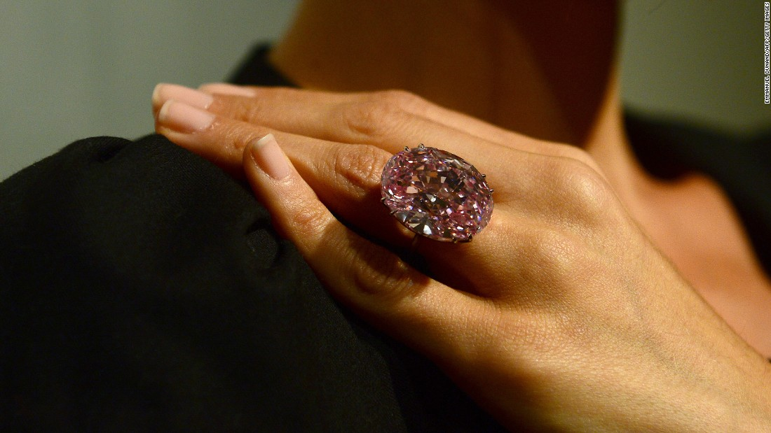 The World's Most Expensive Blue Diamond Oppenheimer Sets A New World Record Cnn Style: Rose Diamond Color Sheet At Alzheimers-prions.com