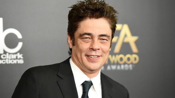 "Actor Benicio Del Toro wears a lucky ring featuring wood instead of a stone. ""What I like is that I can knock on wood anytime,"" Del Toro told Talk magazine."