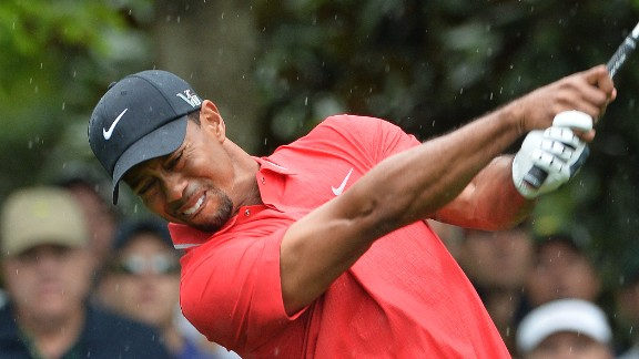 "Ever wonder why Tiger Woods wears those bright-red shirts? It's not only because red is so obviously his color. ""I've worn red ever since, since my college days basically, or junior golf days. Big events on the last day.  I just stuck with it out of superstition, and it worked,"" he has said."