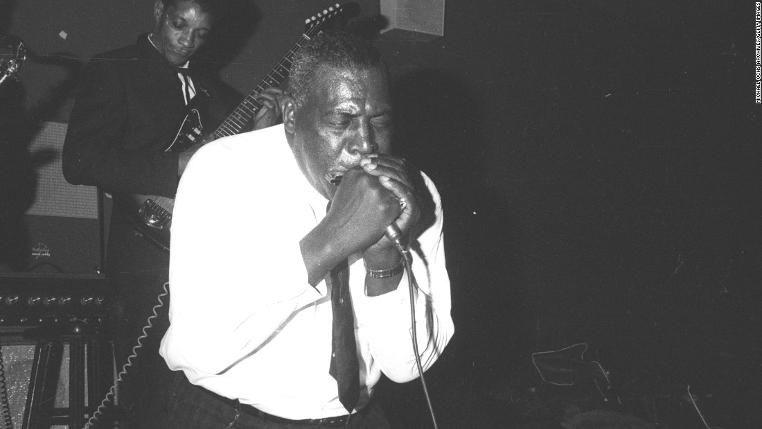 "When Phillips first heard Howlin' Wolf, he said, ""This is where the soul of man never dies."" Wolf, born Chester Arthur Burnett, was recorded by Phillips in the early '50s. His records were released by Los Angeles' RPM Records and Chicago's Chess, and Wolf moved to Chicago in 1952. Today, he's best known for such songs as ""Smokestack Lightning"" and ""Little Red Rooster."""