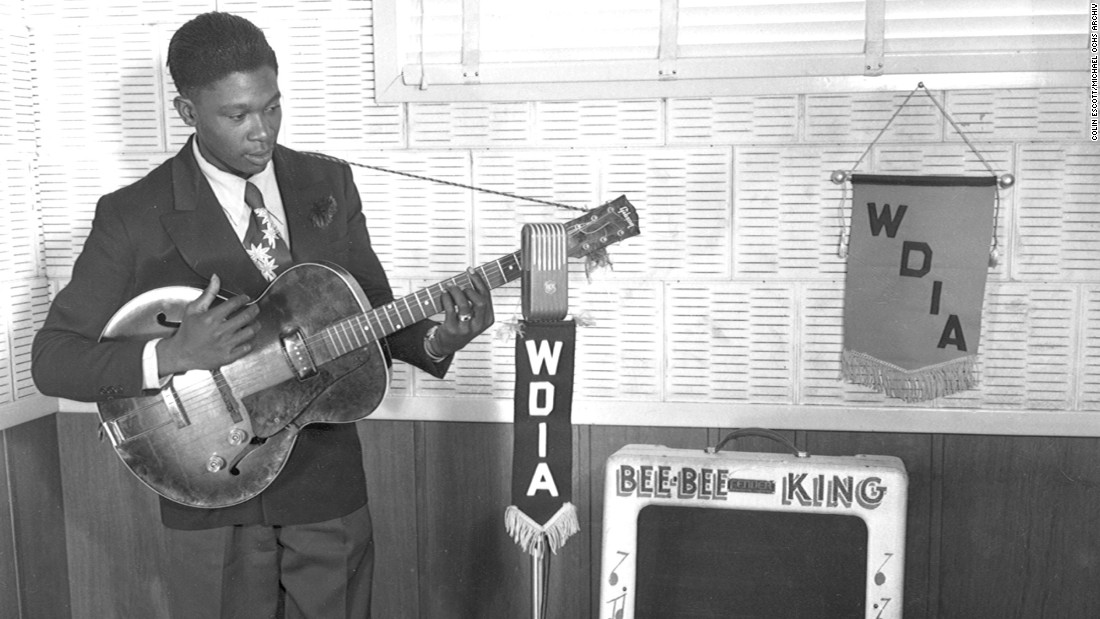 "Riley ""B.B."" King was a Memphis DJ as well as a guitarist when he recorded for Phillips in the early '50s. His early songs with Phillips failed to click, but not long after he left, his ""3 O'Clock Blues"" made him a star."