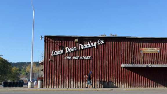 Lame Deer, Montana, is home to 2,000 of the Northern Cheyenne Reservation