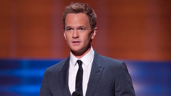 """Neil Patrick Harris appears onstage at """"CNN Heroes: An All-Star Tribute"""" in 2009. He"""