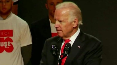 Biden to students: Intervene to stop sexual assaults