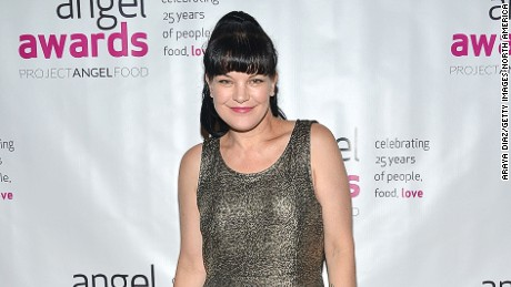 Pauley Perrette tweeted that she was jumped by a man in front of her Hollywood home Thursday night.