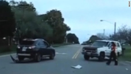 Road-rage incident caught on camera - CNN Video