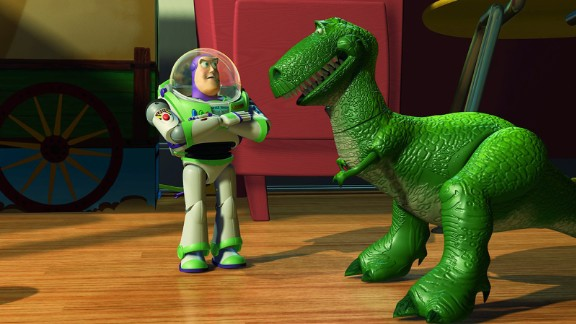 "Rex the dinosaur, ""Toy Story"""