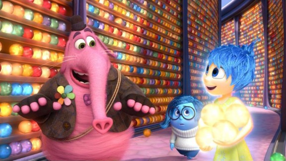 "Best animated feature film: ""Inside Out"""