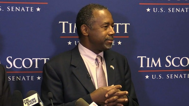 Carson: My sources are better on China, Syria