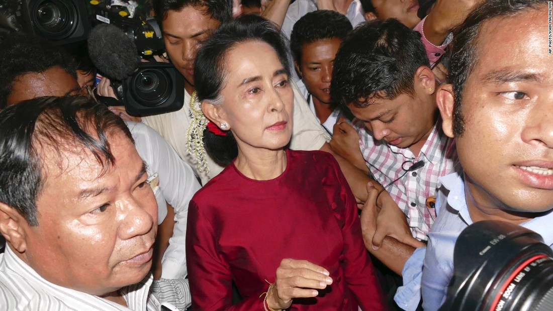 Aung San Suu Kyi Fast Facts