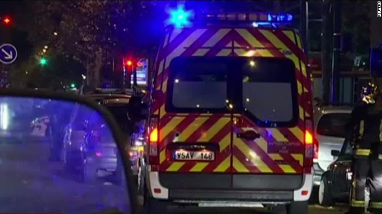 Paris shooting survivor: It was 'a bloodbath'