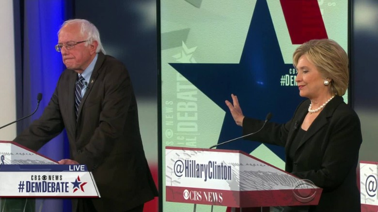 Sanders attacks Clinton's Wall Street ties