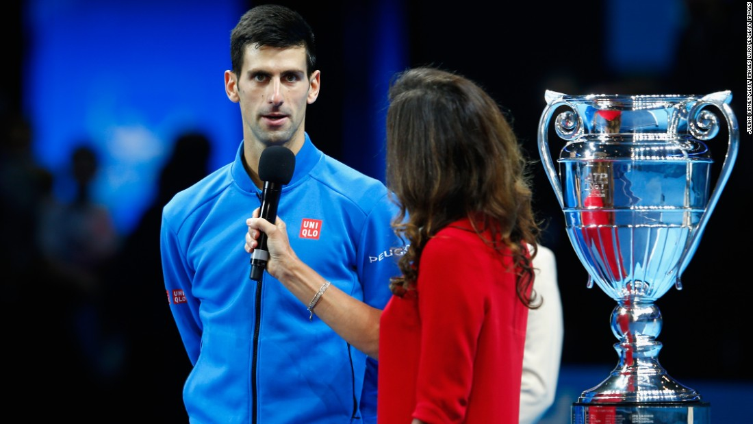 "Djokovic would later ask fans to join him in a round of applause for the victims and offer his own sympathies in a post match interview. ""All my heart goes to the families of the lost ones,"" he said."