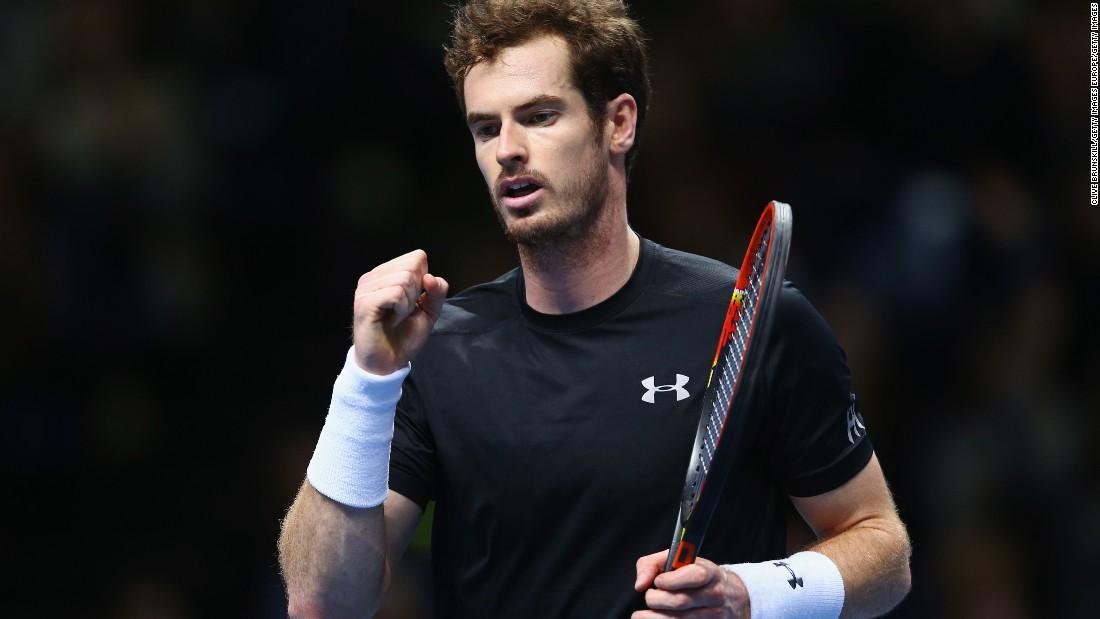 Murray beat Ferrer in Paris less than two weeks ago and did it again at the year-end championships, prevailing 6-4 6-4.