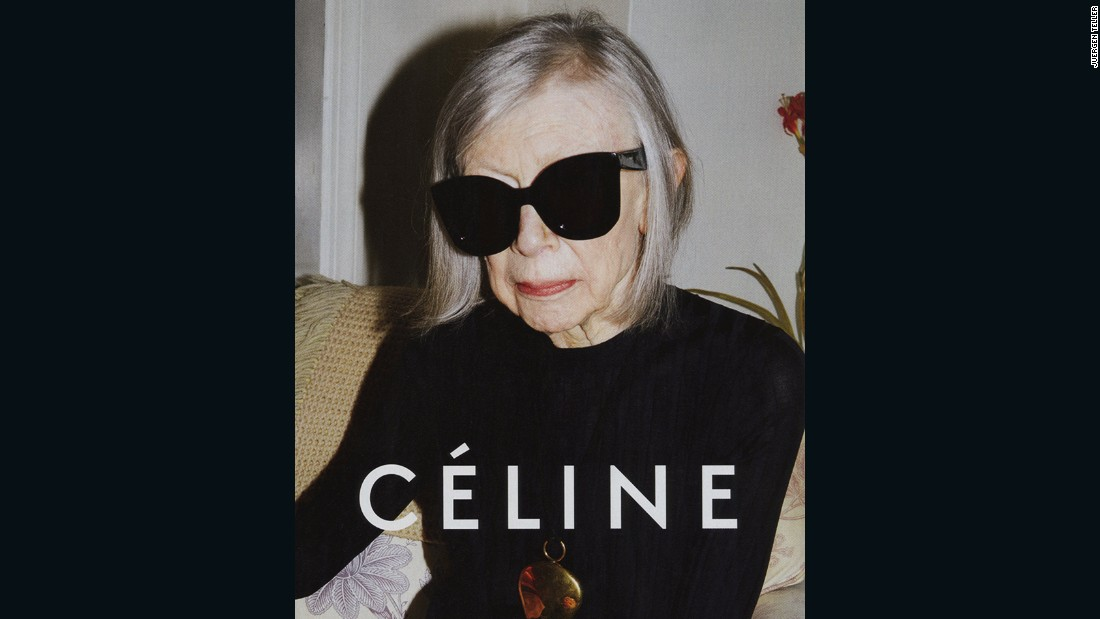 When, earlier this year, Céline cast Joan Didion as their face for Spring 2015, it caused a media storm. Seeing an older woman -- and a literary figure, at that -- presented as aspirational icon presented a new diversity within mainstream advertising: one that appreciated women for brains as well as beauty and disregarded the ordinary cut-off point for the age of female models.