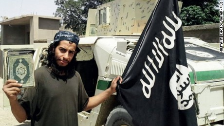 Who was Abdelhamid Abaaoud, suspected ringleader of Paris attack?