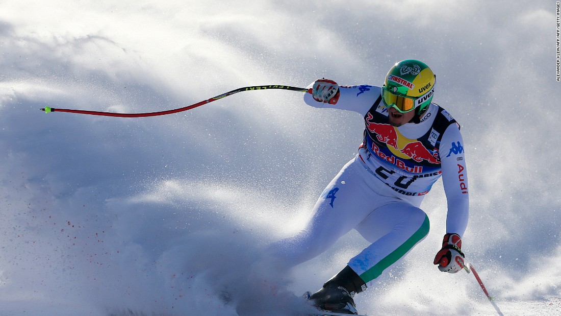 Paris admits that he struggled to focus on skiing following the tragedy, losing concentration in races and eventually crashing out and injuring himself.