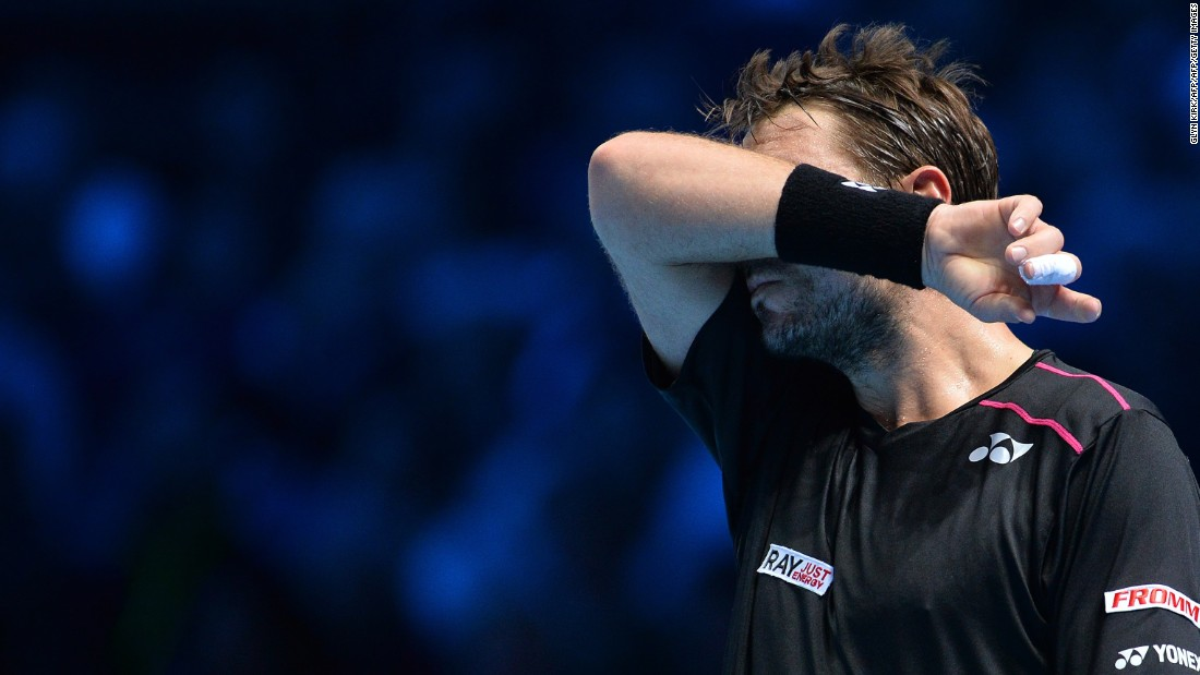 But Wawrinka had a night to forget. He committed 35 unforced errors a little over a week after defeating Nadal in Paris.