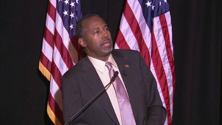 Ben Carson takes pause before answering NATO question
