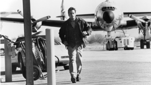"""""""Terminal Velocity,"""" a 1994 film in which he played a skydiving instructor, fared even worse. Critics wondered whether the film was a goof, comparable to Sheen's """"Hot Shots!"""" parody series. It made just $17 million at the box office on a $50 million budget."""