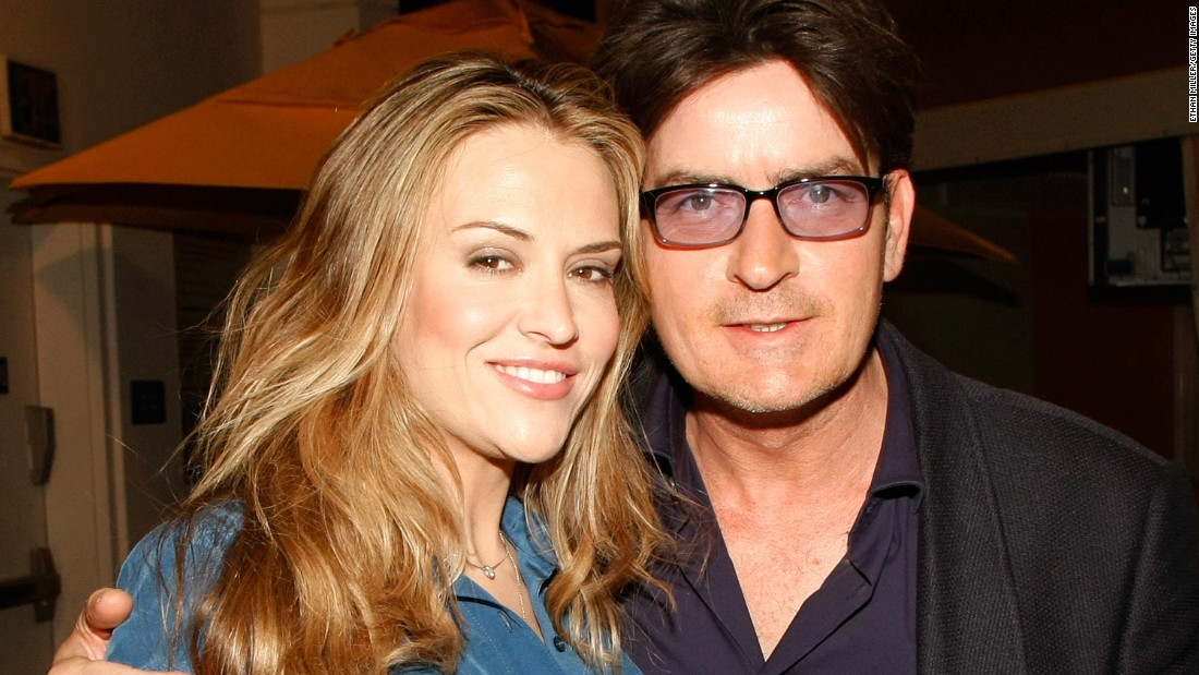 "Sheen's third marriage, to actress Brooke Mueller, was also contentious. The two married in 2008 and divorced three years later, time that included Sheen's arrest on suspicion of domestic abuse and rehab stints for both. A custody battle ensued after the divorce, but the two <a href=""http://www.people.com/article/broke-mueller-charlie-sheen-relationship"" target=""_blank"">are getting along for now.</a>"