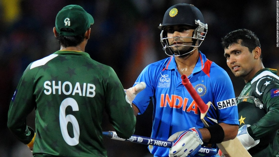 India and Pakistan are especially fierce rivals in cricket, the top sport -- by far -- in both nations.
