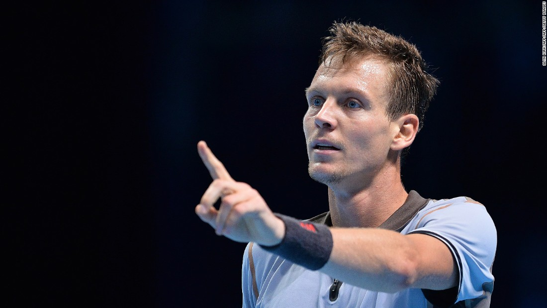 Berdych missed out on his first win. He fell to 0-2 in group play and is close to elimination.