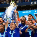 Chelsea Premier League 2014/15 trophy