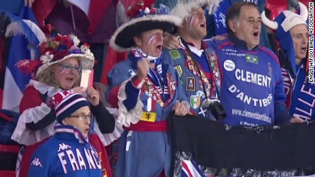 e7f31d846ae England vs. France  Fans unite against Paris attacks - CNN