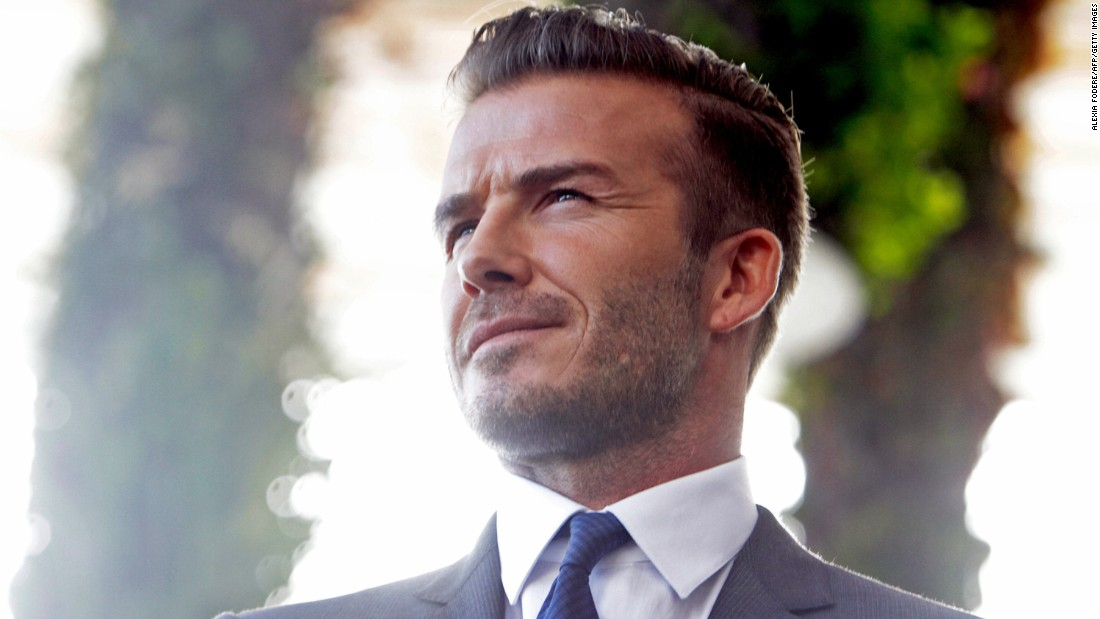 Soccer player/model David Beckham snagged the title in 2015.