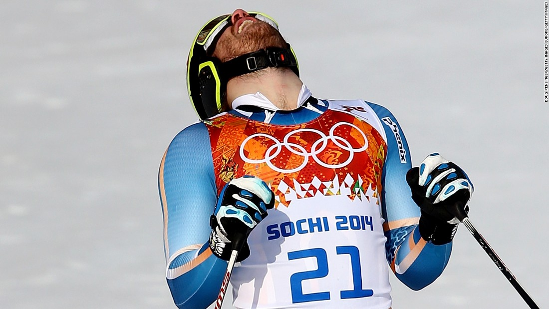 Jansrud's crowning glory was winning the Olympic super-G title at the 2014 Sochi Winter Games.