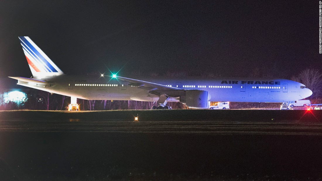 2 air france flights from u s to paris diverted cnn
