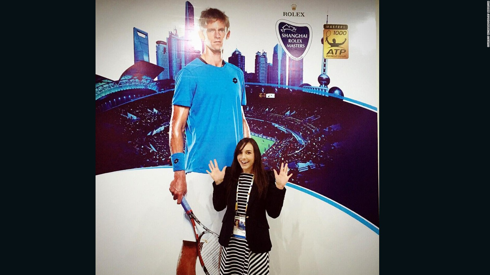 Love match: Day in the life of a tennis wife on tour