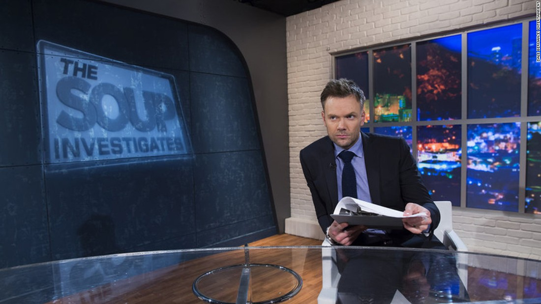 "After 11 years, E! ended ""The Soup"" on December 18. The show, which poked fun at talk shows, reality TV, home shopping and more odd TV moments, made host Joel McHale a comedy star."