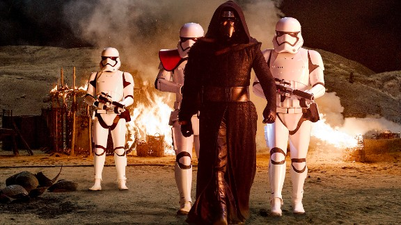 Unless you've been hiding under a rock on Jakku for the last year, you'll be aware of Kylo Ren. Played by Adam Driver, he's clearly in cahoots with the First Order, and he's up to no good. He wears an iron mask and has built his own fire-spitting lightsaber. He wants to kill Jedis. He's the ultimate bad guy, isn't he? But wait. What if Kylo isn't entirely evil? What if the Force awakens in him? Redemption is a big theme in Star Wars, and we can't imagine anyone more in need of that than this dude.