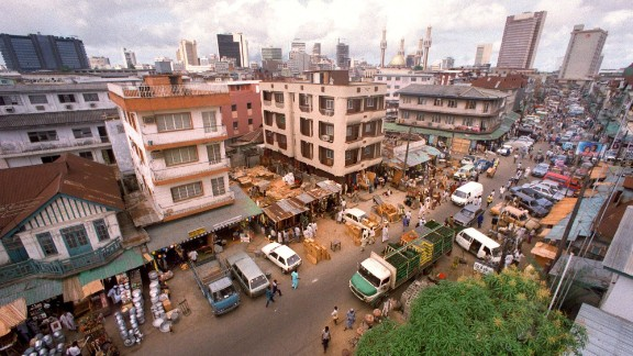 Lagos is Africa's most populous city.