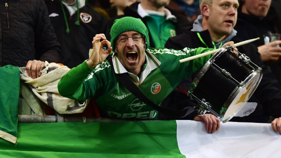 Republic of Ireland fans can start to plan their trip to France after a Jon Walters brace ended Bosnia-Herzegovina's hopes of reaching Euro 2016. The 3-1 aggregate Irish victory. came six years to the week after their hearts were broken by an unnoticed Thierry Henry handball -- which cost them a spot at the 2010 world cup.
