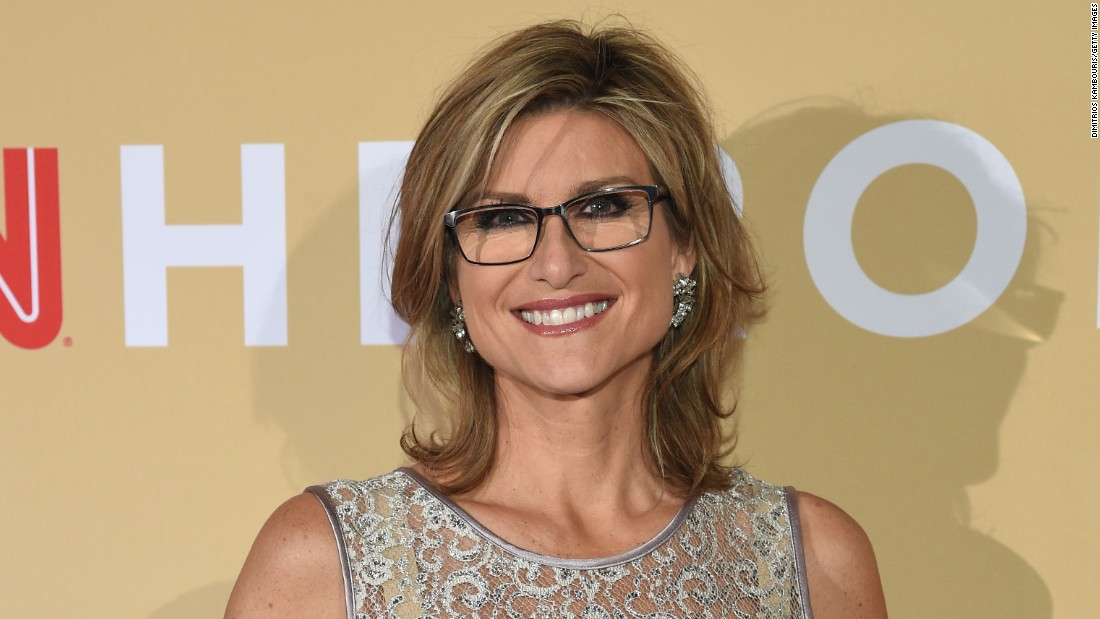 "CNN anchor Ashleigh Banfield attends the ""All-Star Tribute,"" which honored this year's Top 10 CNN Heroes."