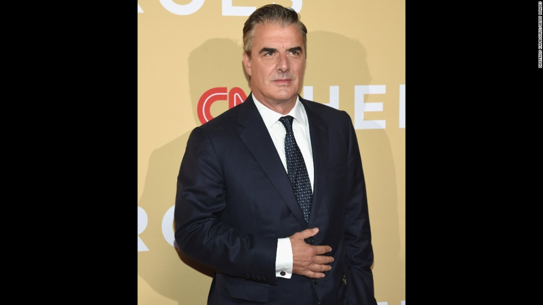 Actor Chris Noth was among the ceremony's presenters. During the ceremony, celebrity presenters joined each Top 10 Hero on stage as they shared the personal stories about what inspired them to give back to society.