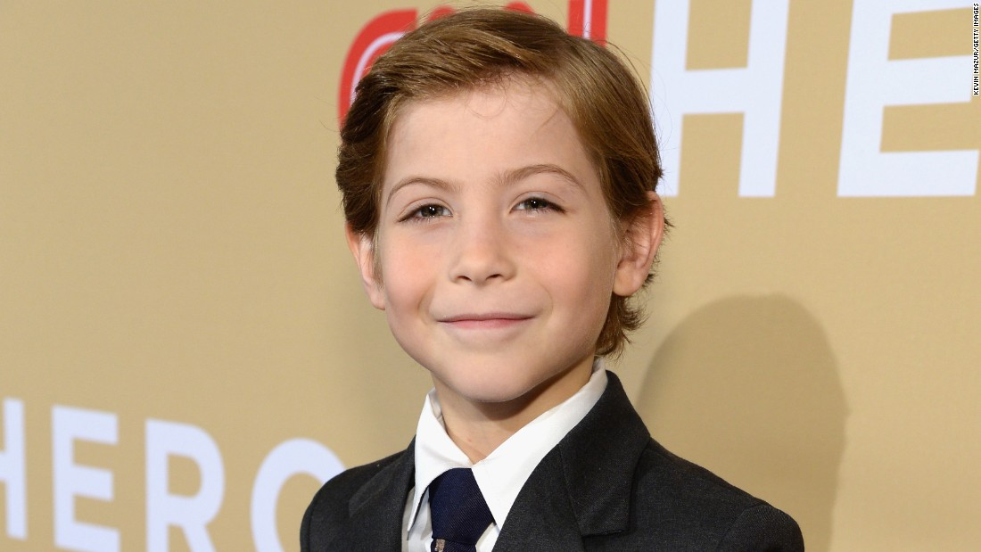 "Canadian actor Jacob Tremblay introduced another of the CNN ""Young Wonders."""