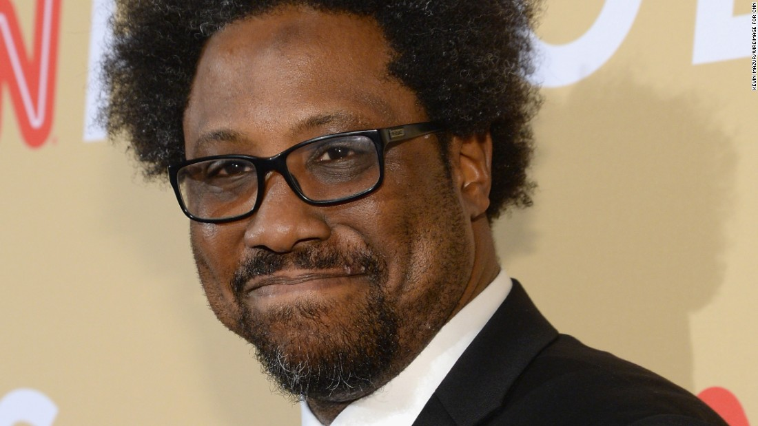 "Stand-up comic W. Kamau Bell performed at the event. He is the host of the upcoming CNN series ""United Shades of America."""