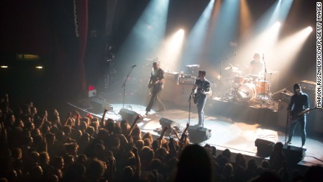 Eagles of Death Metal perform at the Bataclan moments before the attack.