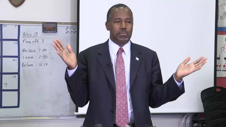 Ben Carson likens some refugees to 'rabid dogs'
