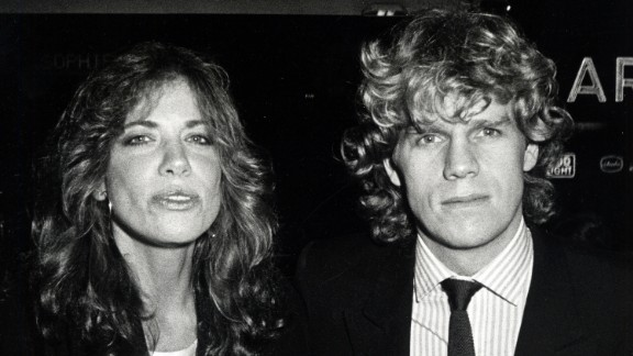 """Simon briefly dated """"Dynasty"""" star Al Corley in the early 1980s and told the Washington Post that he was understanding about the fact that her ex-husband Taylor would still come over to spend the night."""