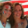 USA Soccer World Cup 1994 fans